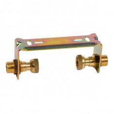 """Kit support compteur eau 110mm - Ecrou tournant 3/4"""" (20x27)"""
