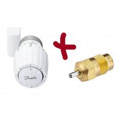 Kit tête thermostatique RA/V 2962 + presse étoupe de rechange