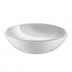 Vasque à poser céramique blanc H13CM - Ø43CM - Ondyna VC14409