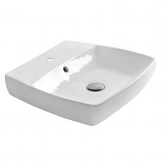 Lavabo à suspendre H10 blanc 60 x 43 cm - Ondyna WH16009