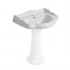 Lavabo céramique Chambord 55x46,5cm à suspendre ou sur colonne - Cristina Ondyna
