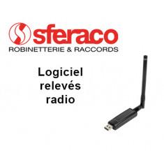 Logiciel relevés radio M-Bus pour compteur équipé d'un émetteur radio