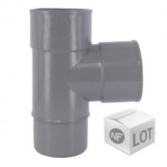 Lot de 10 Culottes PVC 87°30 Mâle-Femelles Ø40 FIRST PLAST