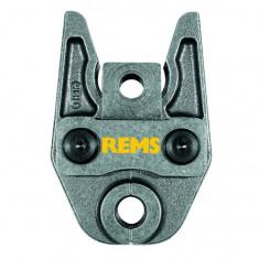 Pince à sertir (Mâchoire) profil V Ø15 pour sertisseuse REMS (Sauf Mini-Press et Eco-Press)