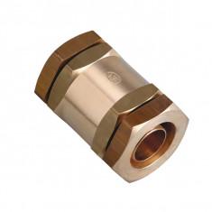 Goulotte INOX de protection 1ml - Largeur 70mm pour tube Ø35