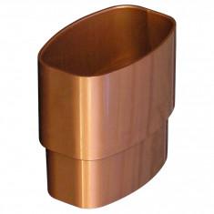 Manchon PVC MF pour tube BEST Øoval 92x57 - effet cuivre