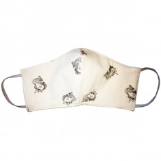 Masque de protection en coton lavable Licorne