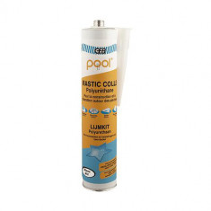 Mastic colle POOL polyuréthane GRIS 300 ml