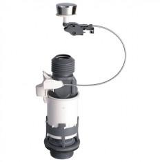 Mécanisme de chasse MD2 NF à câble et poussoir simple débit - Wirquin Pro 10717743