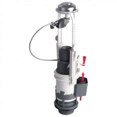 Mécanisme de chasse MWB3 à câble et étrier - poussoir double débit - Wirquin Pro 10717734