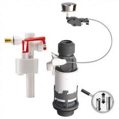 Mécanisme NF simple chasse à câble et robinet flotteur F89 - Wirquin Pro 12031701