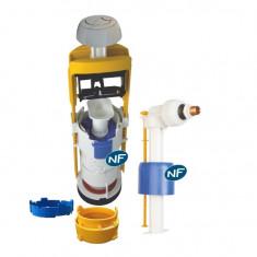 Mécanisme universel MECADOR double débit + robinet flotteur - Regiplast 63500