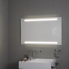 Miroir éclairage supérieur et inférieur LED + miroir grossissant Okkio - Koh-I-Noor L45942
