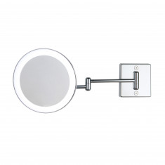 Miroir grossissant à LED alimentation direct IP23 Discolo double bras - Koh-I-Noor C352