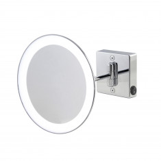 Miroir grossissant à LED alimentation direct IP23 Discolo simple bras - Koh-I-Noor H351KK