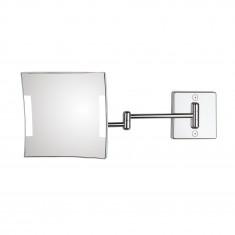 Miroir grossissant à LED Quadrolo bras double - Koh-I-Noor C602