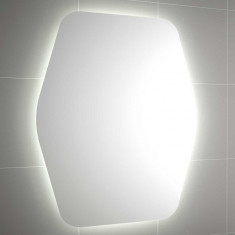 Miroir de salle de bain Organic à lumière LED - Salgar