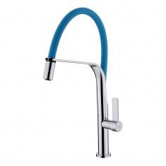 Mitigeur évier Bleu TUBIG avec douchette - TUB12B