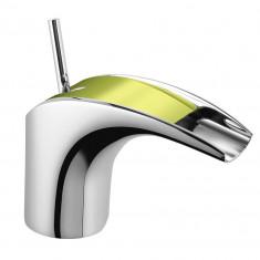 Mitigeur lavabo Chromé/Vert MAJI - MAJ15G