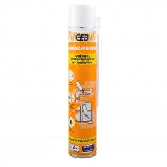 Carton de 6 aérosols mousse polyuréthane 750ml + gants - GEBSOMOUSSE