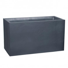 Muret Volcania rectangle 99,5 x 39,5 x 60 cm - 116 L- Gris anthracite