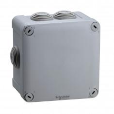 Boite de dérivation Mureva Box IP55 + embouts + bornier 105x105x55 - ENN05205
