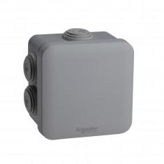 Boite de dérivation Mureva Box IP55 + embouts + bornier 80x80x45 - ENN05204