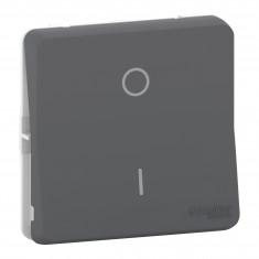 Mureva Styl - Interrupteur bipolaire - composable - IP55 - IK08 - gris