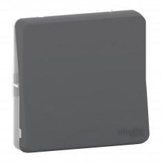 Mureva Styl - Bouton poussoir - composable - IP55 - IK08 - connexion auto - gris
