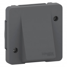 Mureva Styl - Sortie de câble - composable - IP55 IK08 - connexion auto - gris