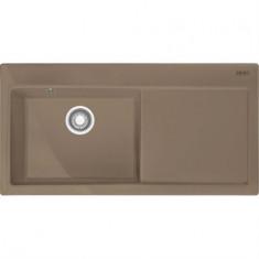 Mythos MTK 611-100 Céramique - Égouttoir Droite - Cachemire - 1000x510x190 mm - Sous-meuble 60 cm - Franke