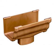 Naissance centrale BI-SYTEM PVC BEST carrée - effet cuivre