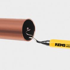 Ébavureur universel REG pour tube cuivre, acier, laiton, aluminium et plastique - Rems