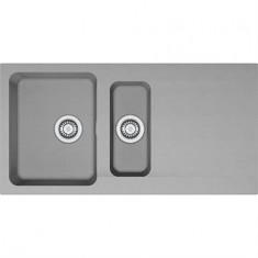 Évier ORION OID651 - Urban grey - 1000x510x190/140 mm - Sous meuble 60 cm - Franke