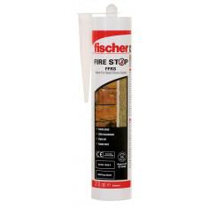Mastic silicone Coupe-feu Fischer FFRS blanc en 310 ml