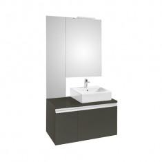 Ensemble HEIMA 900 Meuble, miroirs et applique