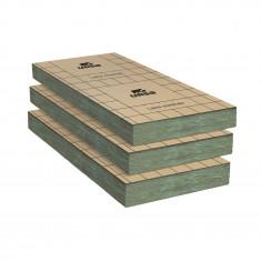 Un paquet de 10 Panneaux laine de verre URSA PRK 38 TERRA revêtu kraft - Ep.75mm - 8,10m² - R 2,00