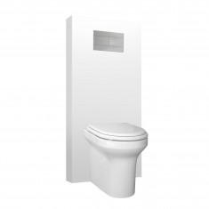 Panneau WC QR-BOX Régiplast Blanc au sol - sans cuvette
