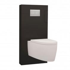 Panneau WC QR-BOX Régiplast Noir suspendu - sans cuvette
