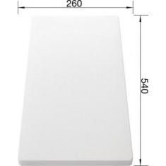 Planche à découper en plastique blanc - Blanco