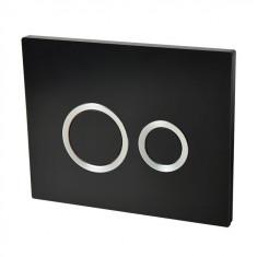 Plaque de commande HOOP noire - Wirquin Pro 55721306