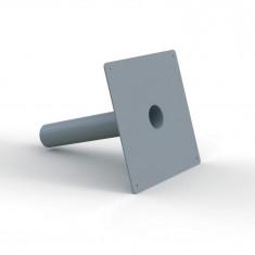Platine d'étanchéité Solusec PVC 290x290 mm - Ø50 - Lazer 240125