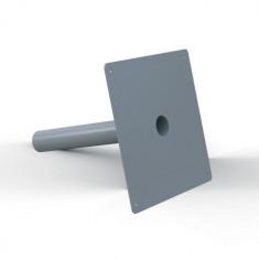 Platine d'étanchéité Solusec PVC 290x290 mm - Ø63 - Lazer 240126