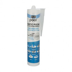 Mastic piscine POOL qualité professionnelle TRANSPARENT 290 ml