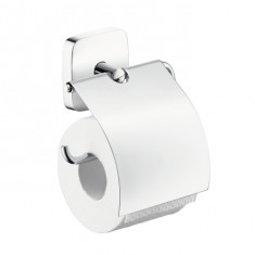 Porte-papier toilette avec couvercle PuraVida - Hansgrohe 41508000