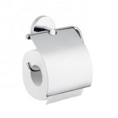 Porte-papier toilette mural couvert chromé Logis - Hansgrohe 40523000