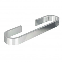 Porte-serviette 60cm aluminium Materia adhésif 3M