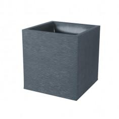 Pot de fleur Graphit carré 39x39x43cm carré - 31L