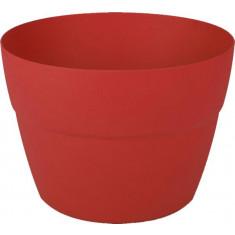 Pot cavalier Cancùn Rouge Rubis - Ø 29 X 20,6 cm - Volume 8 Litres - EDA