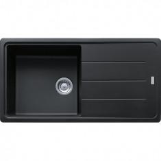 Évier de cuisine Fragranit BFG611-97 - Onyx - sous meuble 60cm -  970x500mm - Franke